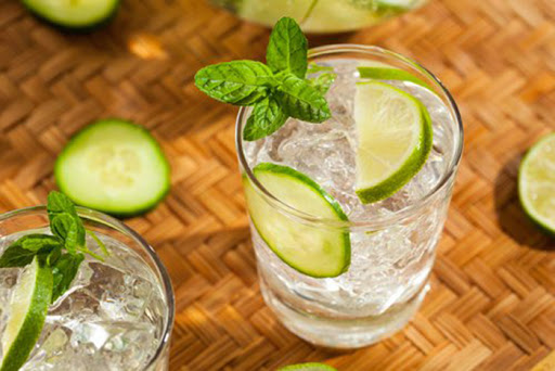 hacer gin tonic con limon