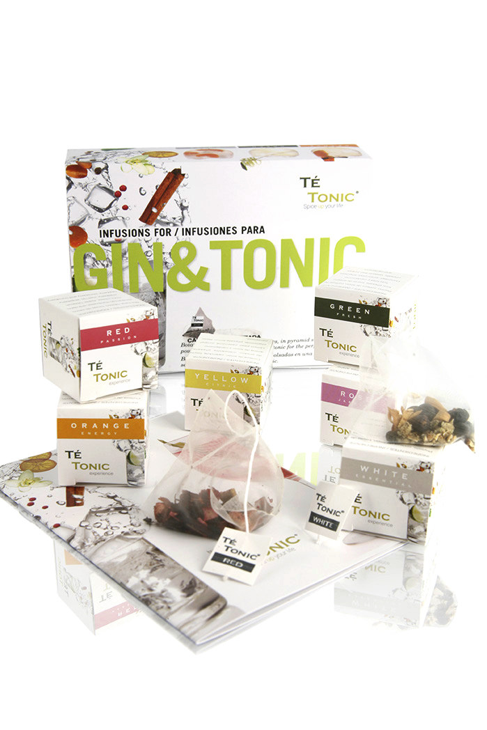 Minipack Gin Tonic 24 infusiones y 6 aromas